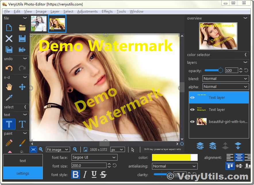 Use Veryutils Photo Editor Software To Easily Edit Digital Images Free Download 1 Rated Editing Program Veryutils