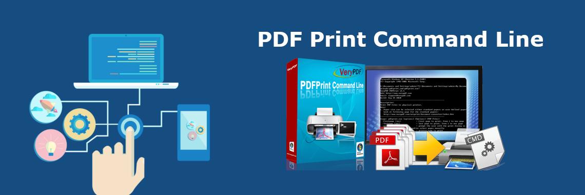PDF Print Command Line