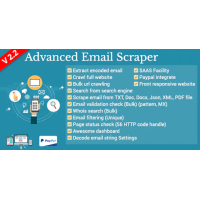 PHP Web Email Crawler