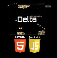 Online HTML5 Delta Game, JavaScript Shooting Game