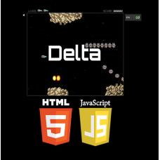 Online HTML5 Delta Game, JavaScript Shooting Game