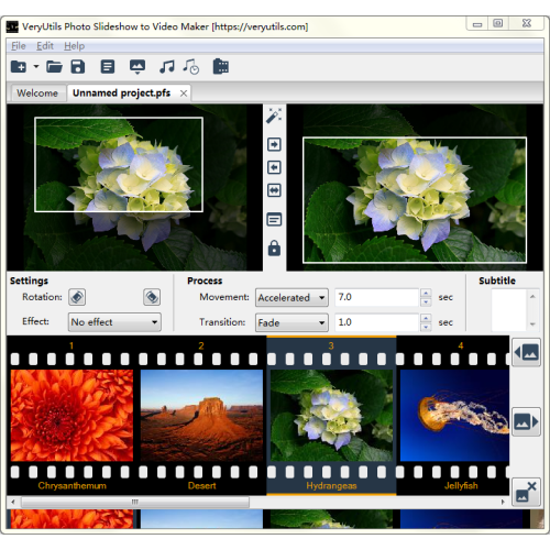 VeryUtils Photo Slideshow to Video Maker 2.3 full