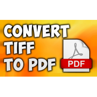 TIFF to PDF Converter Command Line