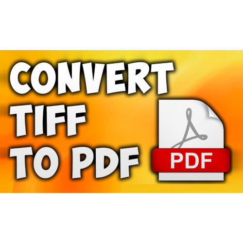 VeryUtils TIFF to PDF Converter Command Line full screenshot