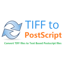 TIFF to Postscript Converter Command Line