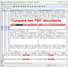 PDF Comparer for Windows