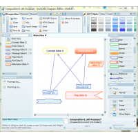 Diagram Editor Software for Windows
