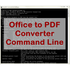 Office to PDF Converter Command Line