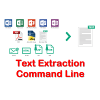 Text Extraction Command Line
