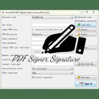 PDF Signer Software