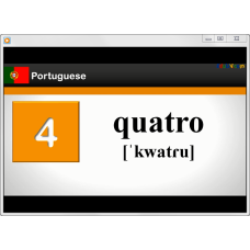 Portuguese Numbers from 1 to 20