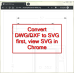 DWG to SVG Converter Command Line