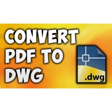 PDF to DWG Converter Command Line