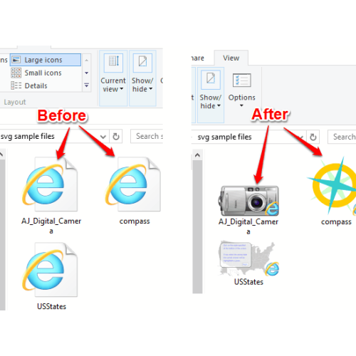 How To Enable SVG Thumbnail Preview In File Explorer On