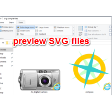 SVG Viewer Extension for Windows Explorer