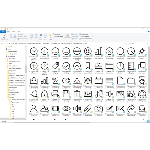 How To Enable SVG Thumbnail Preview In File Explorer On Windows 10