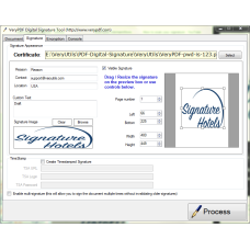 PDF Digital Signature Tool