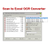 Scan to Excel OCR Converter