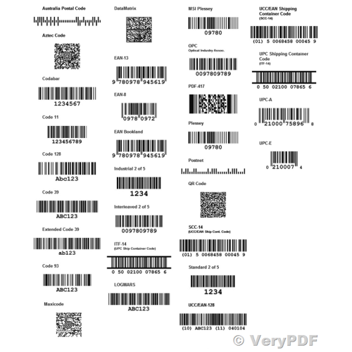 Barcode Creator Generator SDK software  You can embed it in