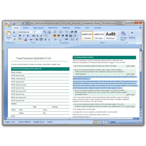 PDF to Word Converter, PDF to DOC Converter, PDF to DOCX