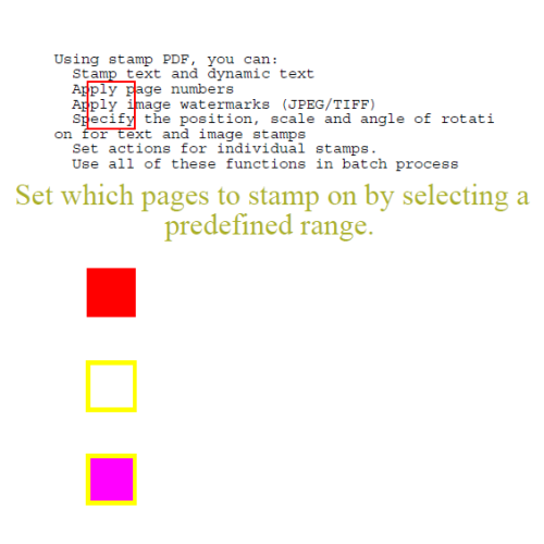 PDF Stamper SDK is a royalty free library for developers