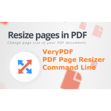 PDF Page Resizer Command Line