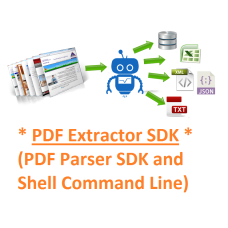 PDF Extractor SDK (PDF Parser SDK and Command Line)