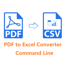 PDF to Excel Converter Command Line