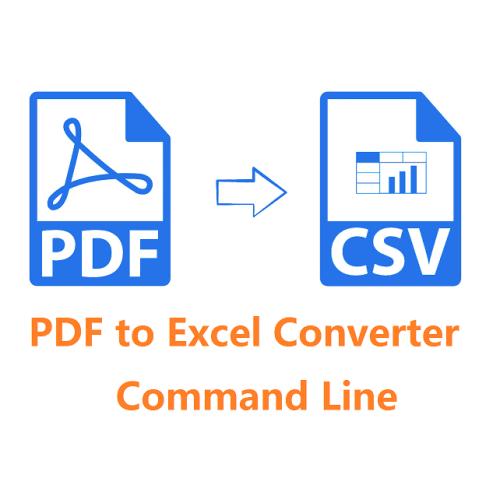 VeryUtils PDF to Excel Converter Command Line full screenshot