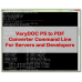 PS to PDF Converter Command Line