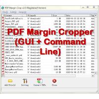PDF Margin Cropper (GUI + Command Line)
