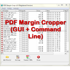 PDF Margin Cropper (GUI + Command Line)
