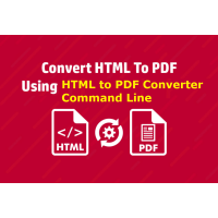 HTML to PDF Converter Command Line