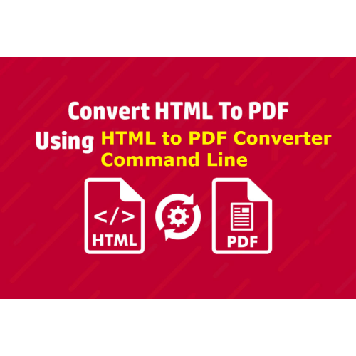 VeryUtils HTML to PDF Converter Command Line full screenshot