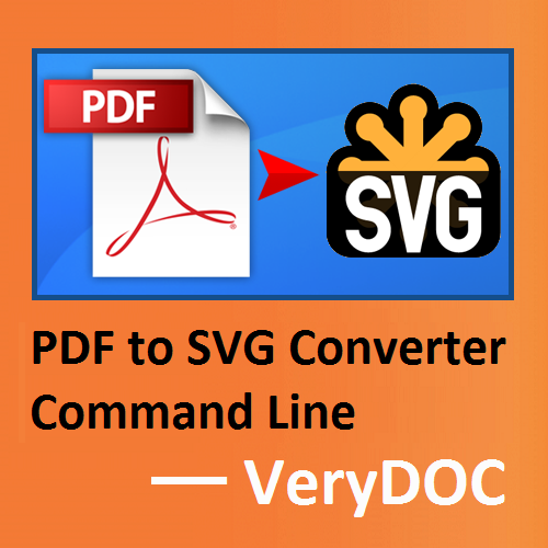 Windows 7 VeryUtils PDF to SVG Converter Command Line 2.2 full