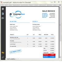 PHP Invoice Generator