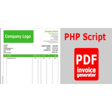 PHP Script for PDF, DOCX, HTML Invoice Maker/Creator