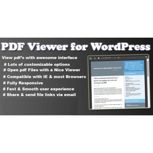 PDF Viewer Plugin for WordPress & JavaScript