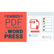 PDF Viewer for WordPress & JavaScript