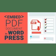 PDF Viewer for WordPress & JavaScript