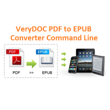 PDF to ePub Converter Command Line