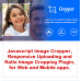 Javascript Image Cropper, Responsive Uploading and Ratio Cropping Plugin