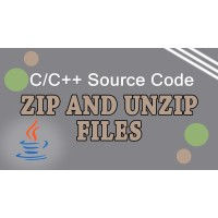 Zip/UnZip C/C++ Source Code