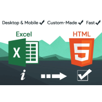 Excel to HTML Table Converter With Search & Pagination using PHP, Excel To PDF