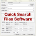 Quick Search Files Software