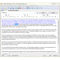 DocVoicer (Text-To-Speech) Software